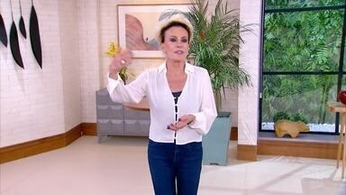 Programa de 08/04/2021 - Ana Maria Braga se diverte com os desafios das redes trazidos por Ju Massaoka no 'Feed da Ana'. Menino que apareceu nervoso em pesca manda recado para a apresentadora. A receita do dia é alho confitado