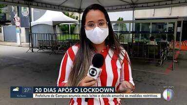 Prefeitura de Campos anuncia mais leitos e decidirá novas medidas restritivas - Medidas serão definidas nesta sexta-feira (9).