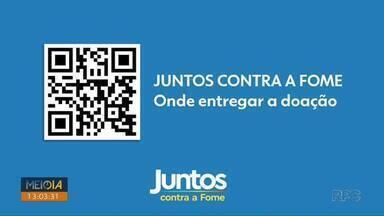 RPC lança campanha Juntos Contra a Fome - Alimentos não perecíveis serão doados a famílias carentes.