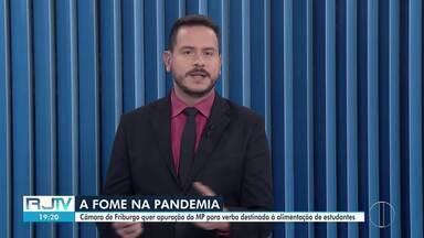 Veja a íntegra do RJ2 desta segunda-feira, 12/04/2021 - Apresentado por Alexandre Kapiche, telejornal traz os principais destaques do dia nas cidades das regiões dos Lagos, Serrana e Noroeste Fluminense.