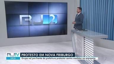 Veja a íntegra do RJ2 desta terça-feira, 13/04/2021 - Apresentado por Alexandre Kapiche, telejornal traz os principais destaques do dia nas cidades das regiões dos Lagos, Serrana e Noroeste Fluminense.
