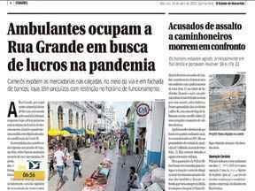 Veja os destaques do jornal O Estado do Maranhão - Confira as principais notícias da publicação na manhã desta quinta-feira (15) no estado.