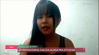 Jovem indígena grava vídeo para informar as comunidades indígenas sobre os cuidados na pandemia - O público tira dúvidas sobre o Coronavírus com a Dra. Thelma Assis