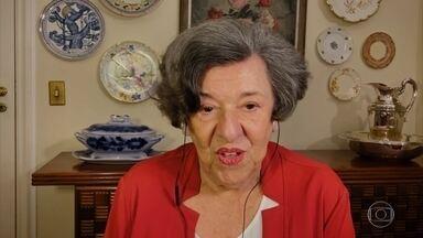 Aos 90 anos, Ruth Rocha planeja lançamento de novo livro - Autora de mais de 200 livros conta que prefere escrever à mão. Ruth também comenta adaptação de seu maior sucesso 'Marcelo, Marmelo, Martelo' para série de TV