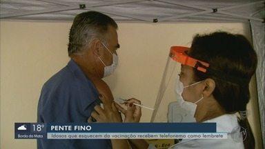 Idosos recebem ligação para lembrar de ser vacinados em Santa Rita do Sapucaí - Idosos recebem ligação para lembrar de ser vacinados contra Covid-19 em Santa Rita do Sapucaí