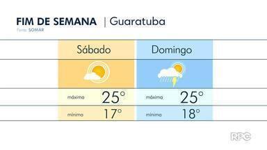 Domingo chuva volta a ganhar força no Paraná - A instabilidade se espalha pelo estado e não estão descartadas pancadas mais fortes ao longo do dia.