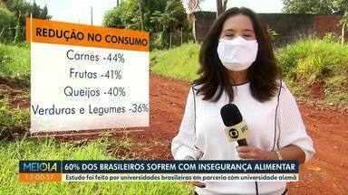 60% dos brasileiros sofrem com insegurança alimentar - Estudo foi feito por universidades brasileiras em parceria com instituição alemã.