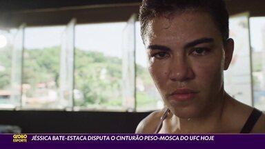 Jéssica Bate-Estaca disputa o cinturão peso-mosca do UFC hoje - Jéssica Bate-Estaca disputa o cinturão peso-mosca do UFC hoje