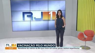 RJ1 Inter TV - Edição deste sábado, 24 de abril de 2021 - Telejornal traz os assuntos que são destaque e mexem com a rotina dos moradores do interior do Rio.