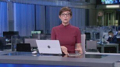 Jornal da Globo, Edição de segunda-feira, 26/04/2021 - As notícias do dia com a análise de comentaristas, espaço para a crônica e opinião.