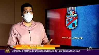 Conheça o Arsenal de Sarandí, rival do Ceará - Saiba mais em ge.globo/ce