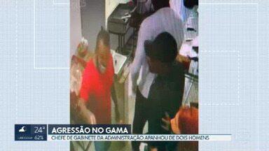Assessor de gabinete da administração do Gama é agredido - Ele estava em frente a uma lanchonete quando dois homens chegaram, um deles deu um soco no rosto do assessor.
