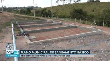 Barbacena receberá R$ 1 milhão para conclusão de estações de tratamento de esgoto - Verba será repassada pelo Ministério do Desenvolvimento Regional. Duas unidades estão em construção e recurso será usado para finalizar o processo