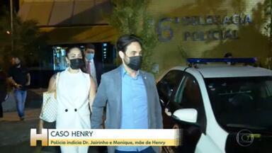 Caso Henry: Dr. Jairinho e Monique Medeiros, mãe do menino, são indiciados por homicídio duplamente qualificado e tortura - Novas mensagens, do celular da babá, detalham outros episódios de agressão ao menino.