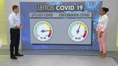 Veja a situação da Covid-19 no ES - Assista a seguir.