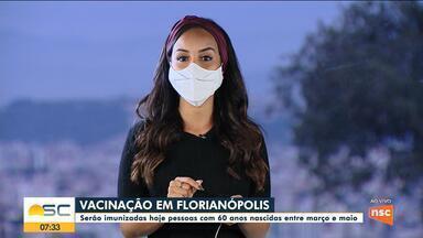 Veja como fica a vacinação contra a Covid na Grande Florianópolis - Veja como fica a vacinação contra a Covid na Grande Florianópolis