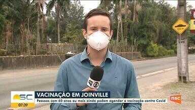 Joinville vacina pessoas com 60 anos; veja como fazer agendamento - Joinville vacina pessoas com 60 anos; veja como fazer agendamento