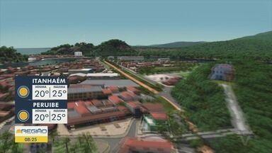 Confira a previsão do tempo para essa quarta-feira - Previsão é de sol entre nuvens na Baixada Santista.