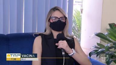 Médica tira dúvidas sobre imunização para quem tem comorbidades - Confira a entrevista com a médica Kalysta Borges.
