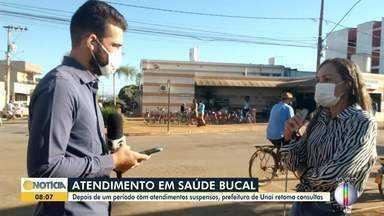 Prefeitura de Unaí retoma consultas após longo período de atendimentos suspensos - Atendimentos foram suspensos por conta da pandemia.