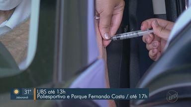 Franca, SP, retoma a vacinação contra a Covid-19 - Imunização foi suspensa na terça-feira (4) por falta de doses.
