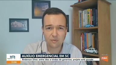 Ânderson Silva começa proposta de auxílio emergencial de Florianópolis - Ânderson Silva começa proposta de auxílio emergencial de Florianópolis