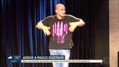 Paulo Gustavo acumulou sucessos na carreira - Além de Dona Hermínia, ator e humorista tinha uma cartela variada de personagens.