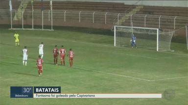 Capivariano goleia o Batatais - Partida terminou em 4x1.