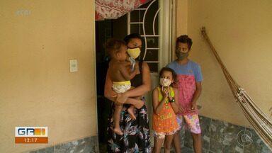 Família contemplada com casa no residencial Brasil em 2015 ainda não recebeu o imóvel - Poliana dos Anjos preenche todos os critérios para ser beneficiada pelo programa Casa Verde e Amarela, ex-minha casa minha vida.