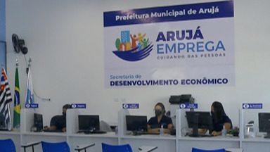 Arujá cria balcão de empregos para encaminhar os moradores ao mercado de trabalho - O e-mail para enviar o currículo é o arujaemprega@aruja.sp.gov.br.