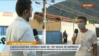 PAT de Caraguatatuba tem mais de 100 vagas de emprego abertas - Veja como concorrer.