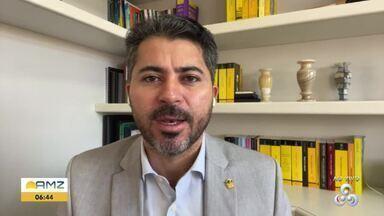 Senador Marcos Rogério fala sobre inauguração da ponte sobre o Rio Madeira - Presidente da república Jair Bolsonaro estará presente no evento.