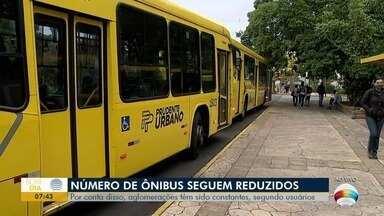 Horários de linhas de ônibus ainda não foram retomados por completo - Diretor do Departamento de Concessão Pública, Fábio Robs, comenta o assunto.