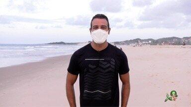 Passeio pela Praia do Presídio - Tep Rodrigues mostra as atrações da praia que pertence ao município de Aquiraz, no Ceará