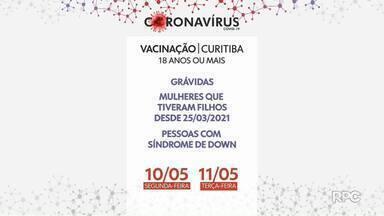Paraná recebe mais de 57 mil doses da Coronavac - Nono lote chegou hoje(08) ao estado. Em Curitiba a vacinação de gestantes, mulheres que tiveram filhos recentemente e pessoas com Síndrome do Down vão ser vacinadas na próxima semana