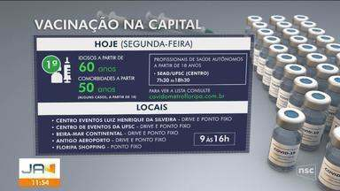 Pessoas com comorbidades acima de 50 anos podem se vacinar na Grande Florianópolis - Pessoas com comorbidades acima de 50 anos podem se vacinar na Grande Florianópolis