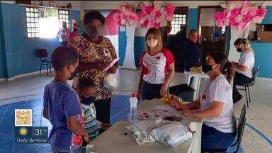 Associação Zeiza Dojo distribui 200 cartões alimentação em Uberlândia - Nesse primeiro momento, 200 famílias em vulnerabilidade econômica cadastradas receberam os tíquetes no valor de R$ 300.
