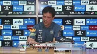 Fernando Diniz é apresentado como novo técnico do Santos - Anúncio aconteceu na tarde desta segunda-feira (10).