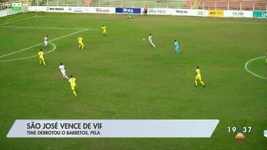 No futebol, São José vence o Barretos - Time ganhou de virada pela A3.