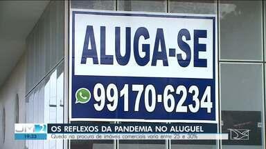 Pandemia afeta o mercado imobiliário em São Luís - Procura por imóveis comerciais teve queda de 30%.