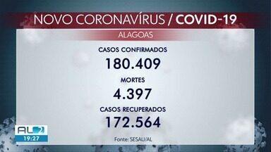 Alagoas confirma mais 16 mortes e 306 novos casos de Covid - 171.763 pessoas conseguiram se recuperar.
