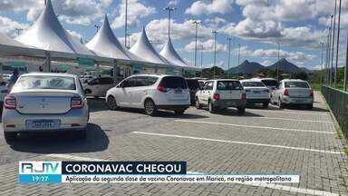 Confira o cronograma para aplicação da 2ª dose da CoronoVac em Maricá, no RJ - Cidade recebeu doses da vacina e retoma imunização.