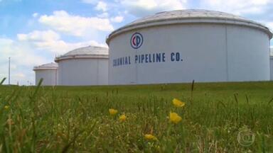 Oleoduto dos EUA sofre ataque cibernético e está fechado desde sábado - Suspensão já provoca aumento de preço dos combustíveis.