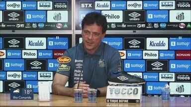 Santos apresenta Fernando Diniz como novo técnico da equipe - Fernando vai estrear nesta terça-feira (11), no jogo contra o Boca Juniors, na Vila Belmiro.