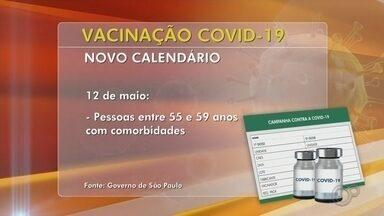 Bauru inicia vacinação de novos grupos prioritários contra a Covid-19 nesta terça (11) - A prefeitura de Bauru (SP) iniciou a vacinação contra a Covid-19 de novos grupos prioritários nesta terça-feira (11). Vão ser vacinadas as mulheres grávidas e puérperas com comorbidades e as pessoas com deficiência permanente de 55 a 59 anos. Confira como está a imunização em outras cidades do centro-oeste paulista.