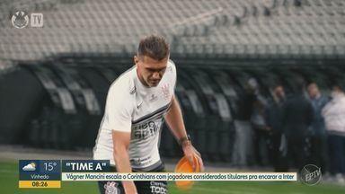 Adversário da Inter no Paulista, Corinthians tenta avançar à semi para consolidar boa fase - Jogo acontece na Arena Neo Química Arena às 16h desta terça-feira (11).