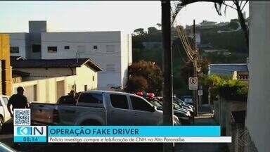 'Fake driver' investiga compra e falsificação de CNH no Triângulo e Alto Paranaíba - Nesta terça-feira (11) foram cumpridos 12 mandados de prisão em Uberaba, Araxá, Perdizes e Sacramento.