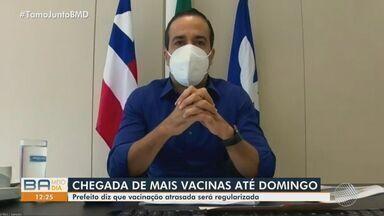 Prefeito de Salvador anuncia mudanças no esquema de vacinação contra Covid-19 - Anúncio foi feito durante coletiva nesta terça-feira (11).