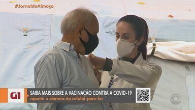 Veja como está a aplicação da 2ª dose da CoronaVac na Região Metropolitana da Capital - Algumas cidades já suspenderam a imunização por conta do fim das doses disponíveis.