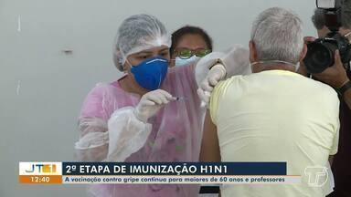 Começa a 2ª etapa de imunização contra a Influenza em Santarém - Agora, o público alvo são os idosos com mais de 60 anos e profissionais da área da educação.